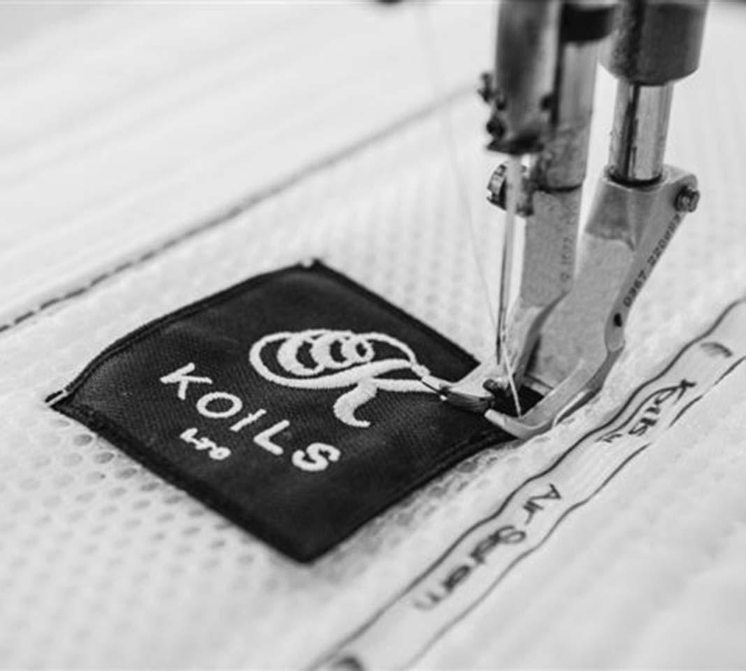 Un materasso Koils è un pezzo unico confezionato attorno alla persona